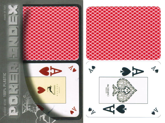 Modiano Poker Index cartes marquées